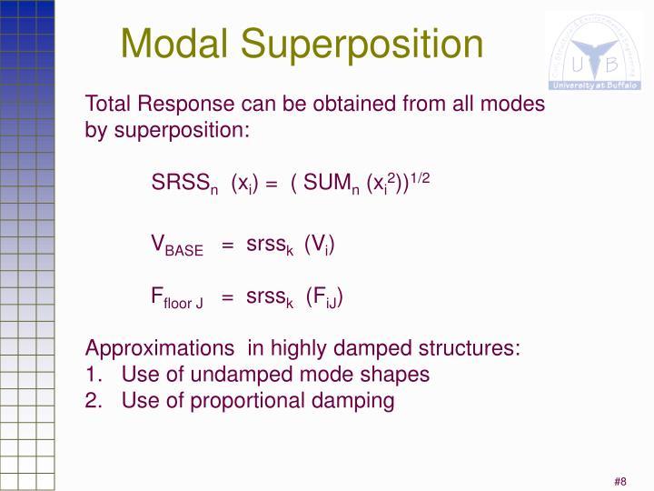Modal Superposition