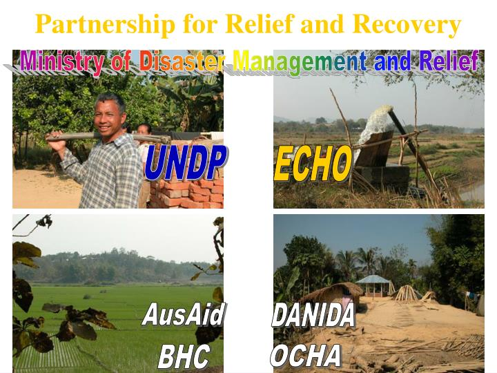 Partnership for Relief and Recovery