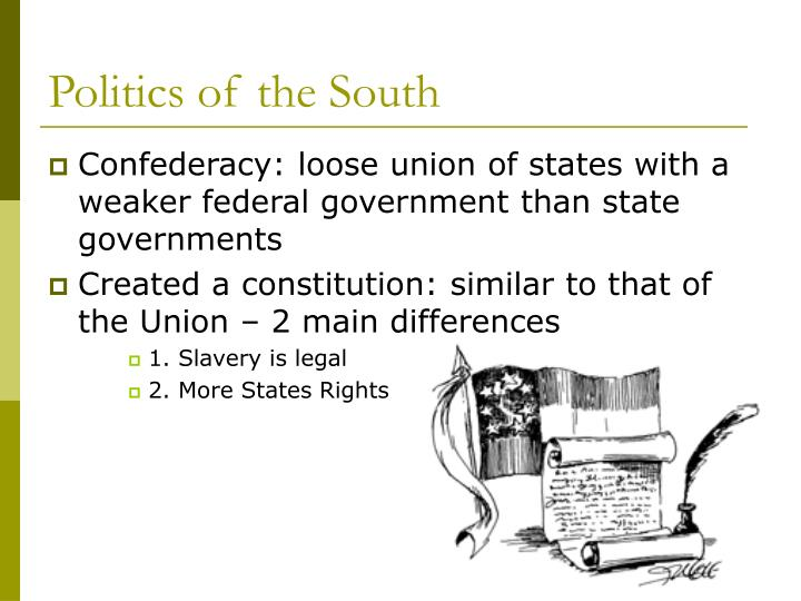 Politics of the South