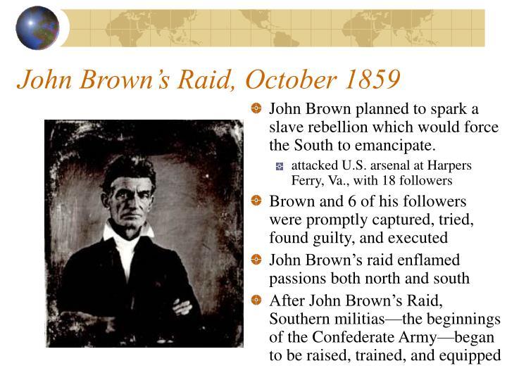 John Brown's Raid, October 1859
