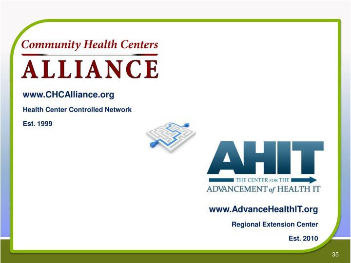 www.CHCAlliance.org