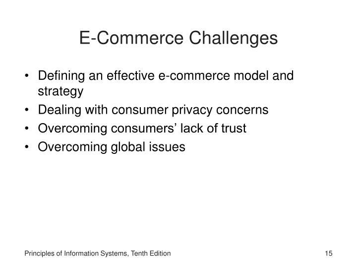 E-Commerce Challenges