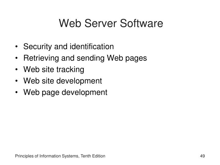 Web Server Software
