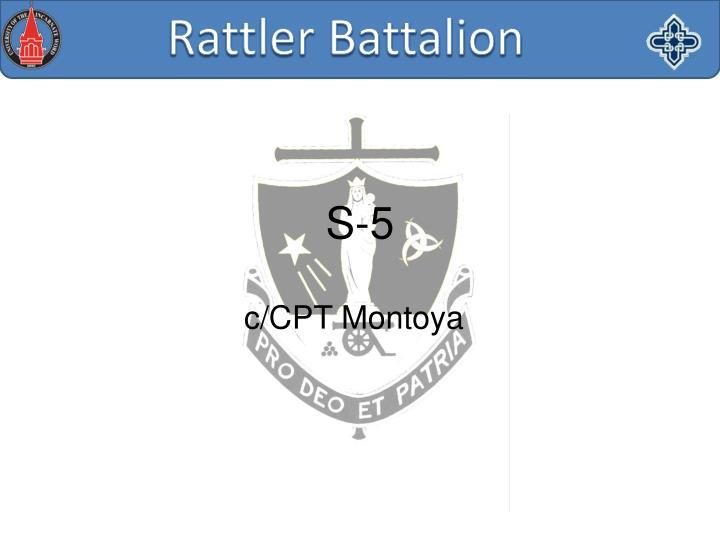 c/CPT Montoya