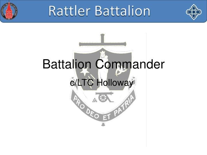 c/LTC Holloway