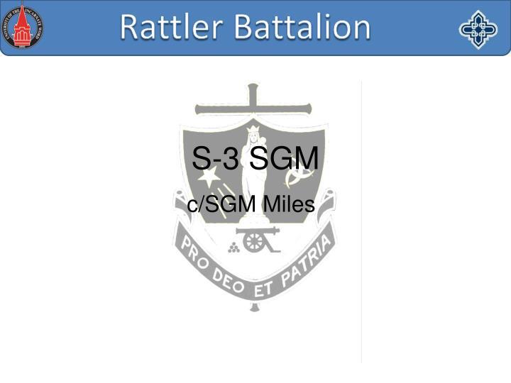c/SGM Miles