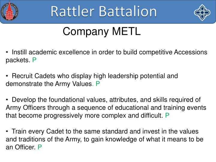 Company METL