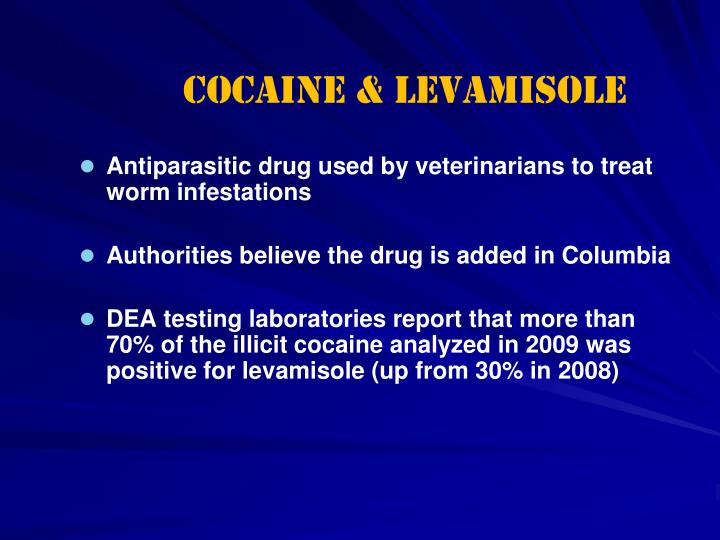 Cocaine & Levamisole