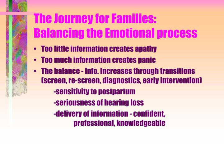 The Journey for Families: