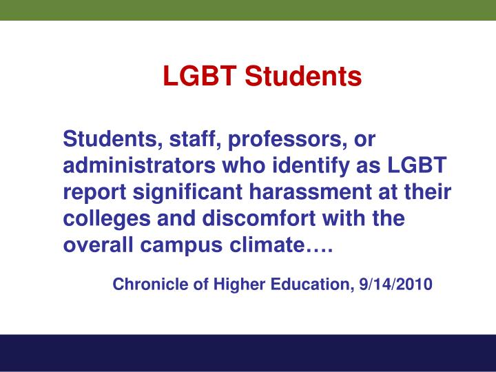 LGBT Students