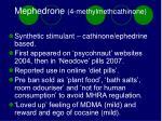 mephedrone 4 methylmethcathinone