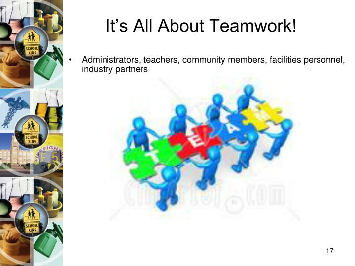 It's All About Teamwork!