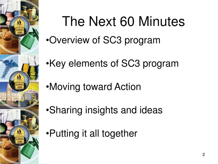 The next 60 minutes