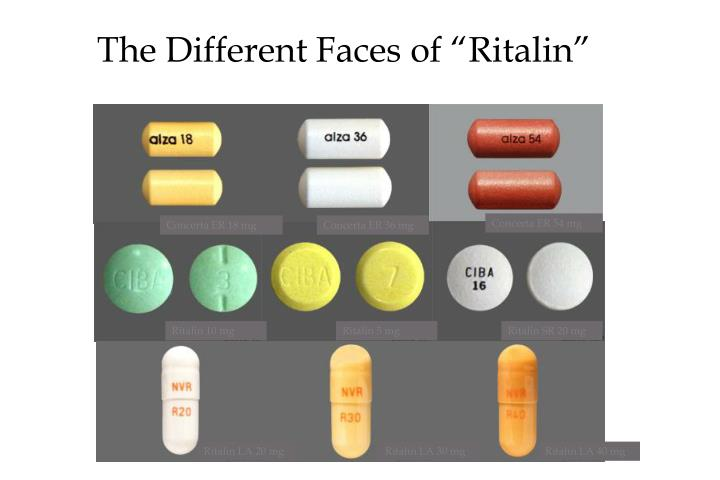 """The Different Faces of """"Ritalin"""""""