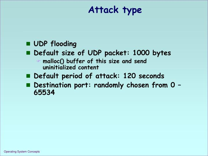 Attack type