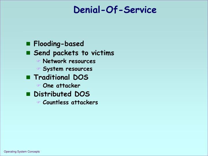 Denial-Of-Service