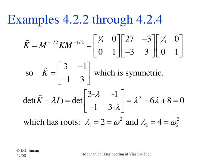 Examples 4.2.2 through 4.2.4