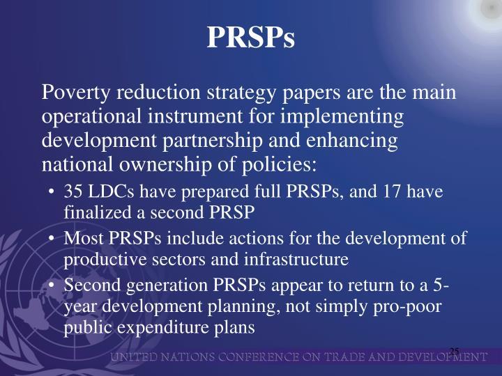 PRSPs