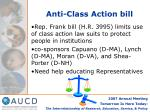 anti class action bill