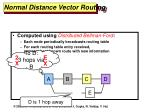 normal distance vector routing1