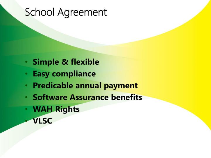 School Agreement