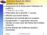 indicator based ea ibea zitzler et al 2004