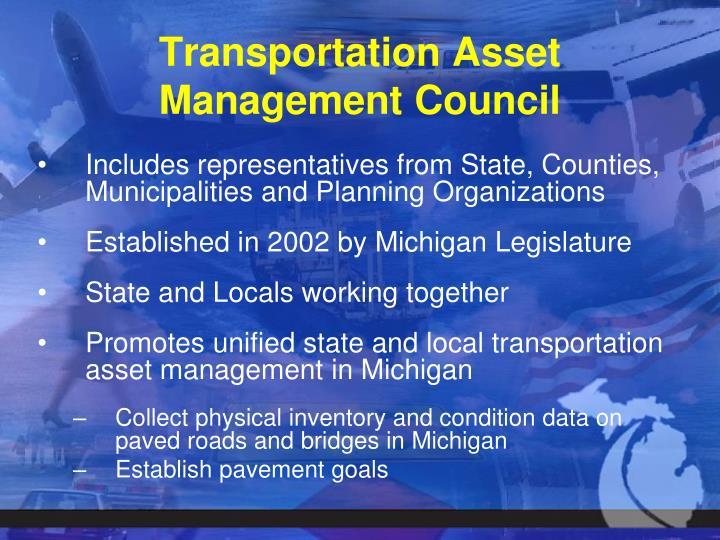 Transportation Asset Management Council