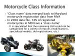 motorcycle class information1