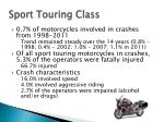 sport touring class