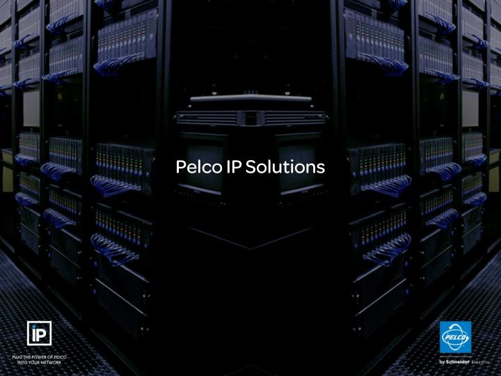 pelco ip solutions n.