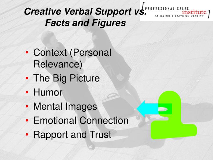 Creative Verbal Support vs.