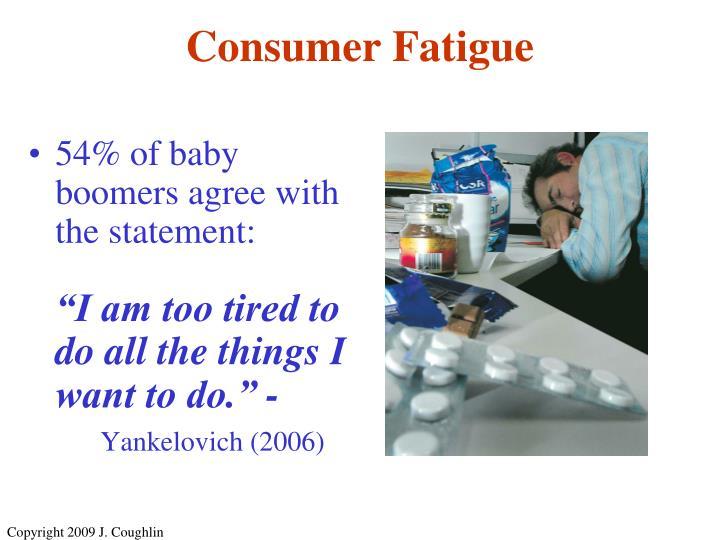 Consumer Fatigue