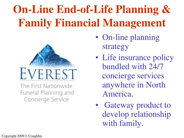 On-line planning strategy