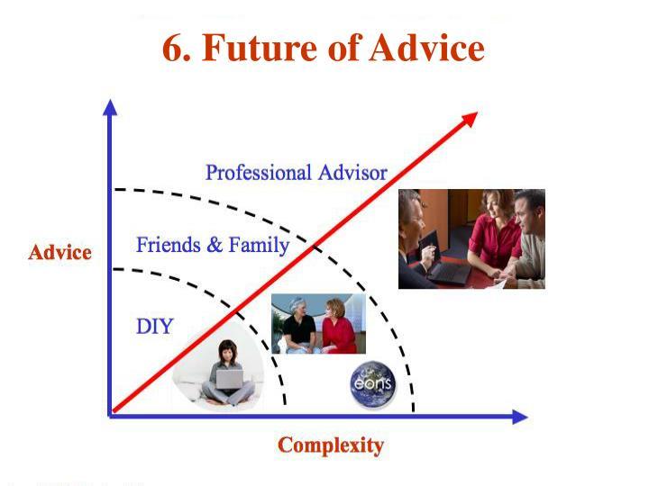 6. Future of Advice