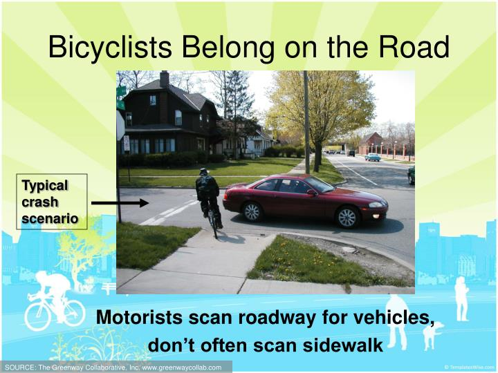 Bicyclists Belong on the Road