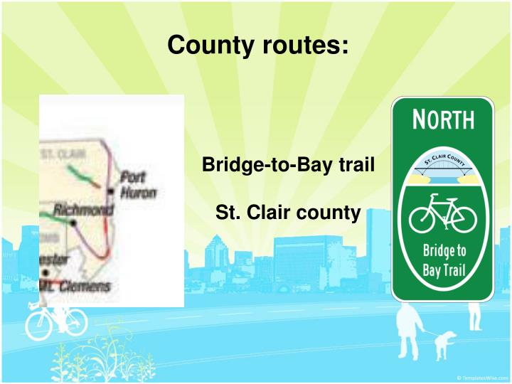 County routes: