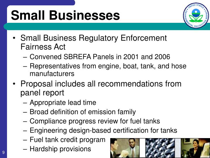 Small Business Regulatory Enforcement Fairness Act