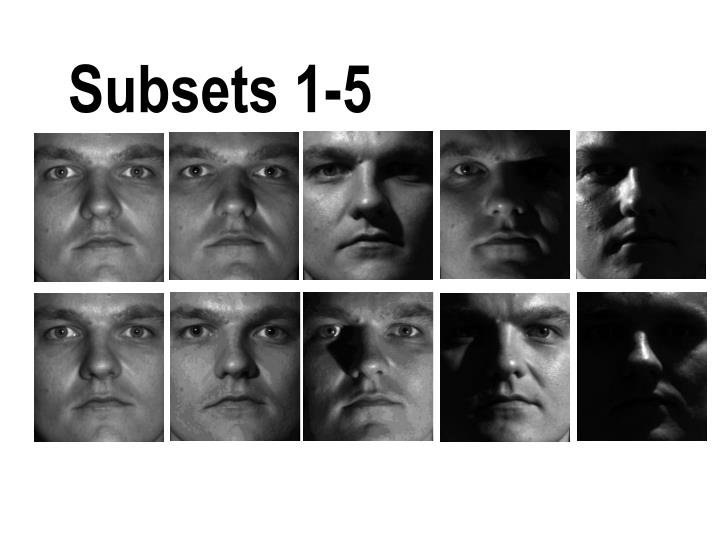 Subsets 1-5