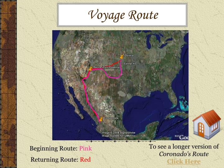 Voyage Route