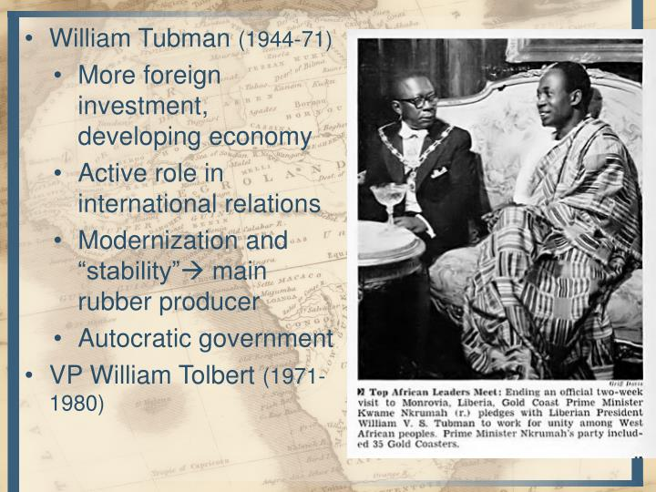 William Tubman