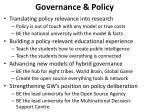 governance policy