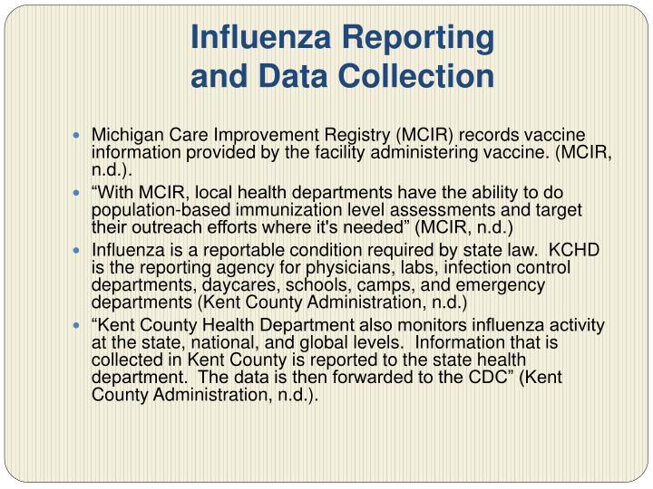 Influenza Reporting