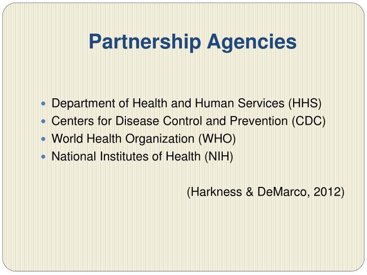 Partnership Agencies