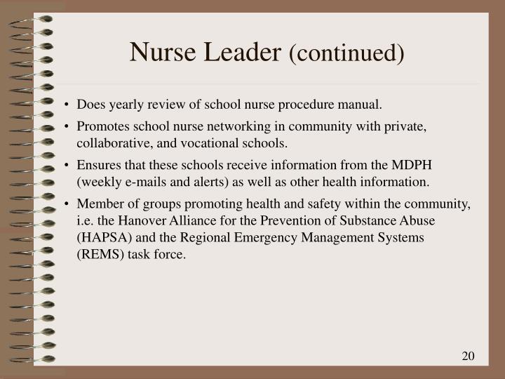 Nurse Leader