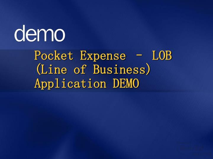 Pocket Expense –
