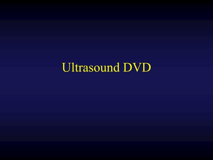 Ultrasound DVD
