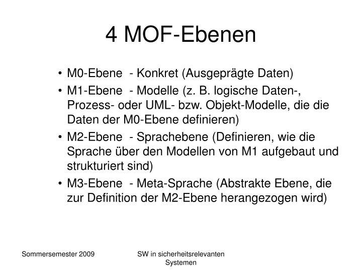 4 MOF-Ebenen