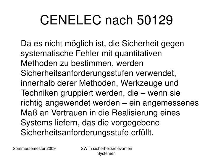 CENELEC nach 50129