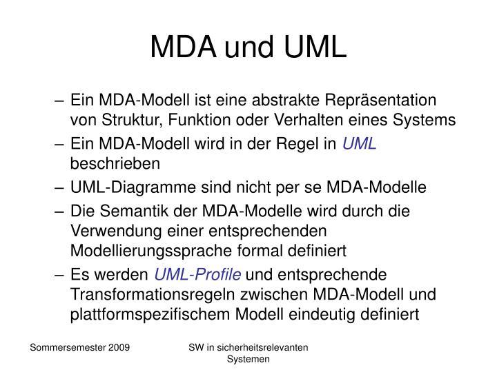 MDA und UML