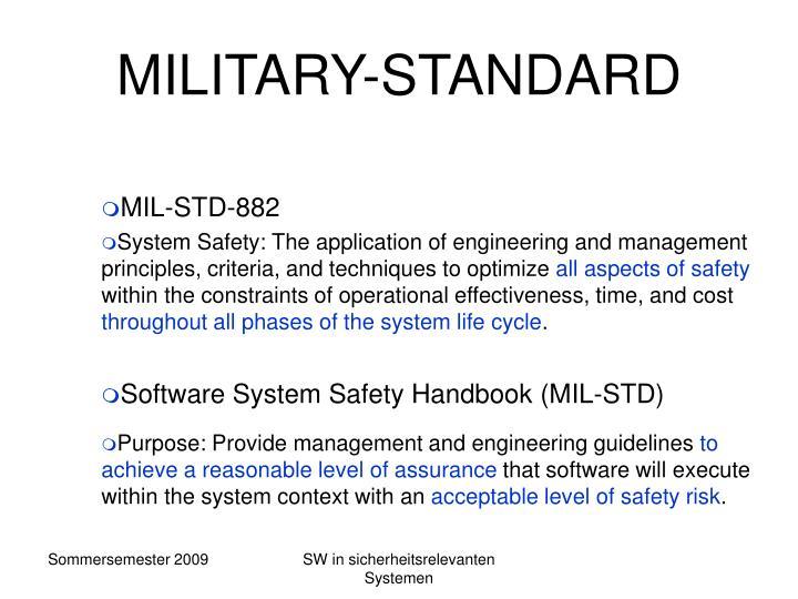 MILITARY-STANDARD